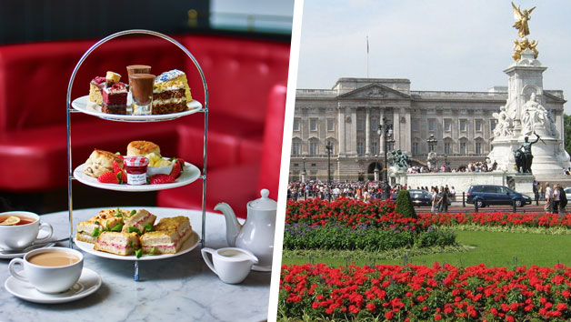 Buckingham Palace State Rooms Entry and Afternoon Tea for Two at Café Rouge