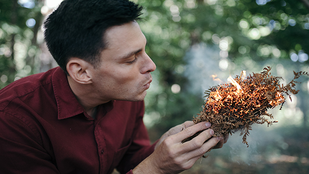 Fire Lighting Masterclass at Endeavour for Two