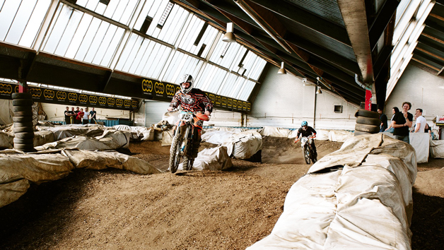 Electric Motocross Dirt Bike Driving Session for Two at iMoto X