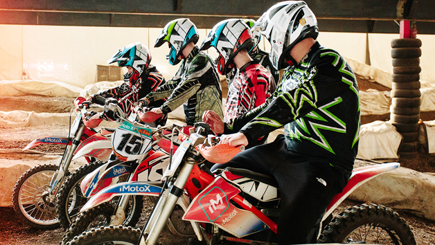 Electric Motocross Dirt Bike Taster Experience for Two at iMoto X