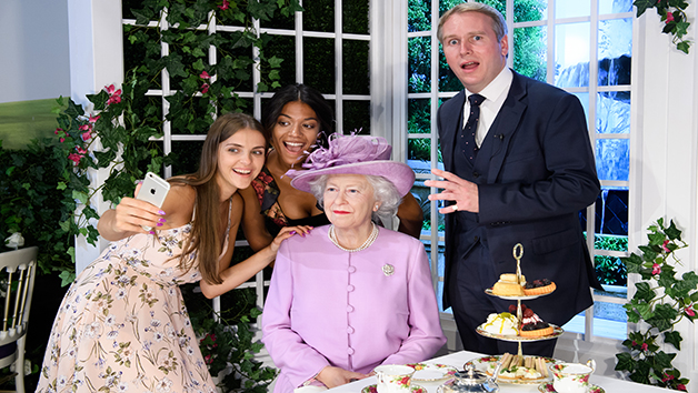 Entry to Madame Tussauds with a Royal Afternoon Tea for Two