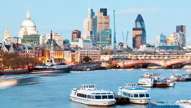 Westminster Sightseeing Thames Cruise for Two – One Way
