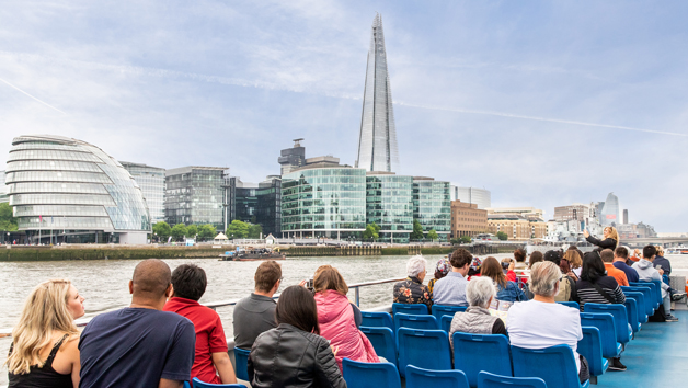 Thames River Sightseeing One Way – Westminster to Tower Bridge or Vice Versa for a Family of Five