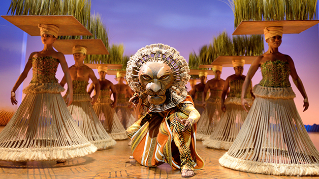 The Lion King Gold Theatre Tickets for Two