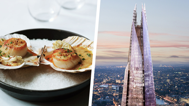 The View From The Shard and Lunch for Two at Gordon Ramsay's Savoy Grill