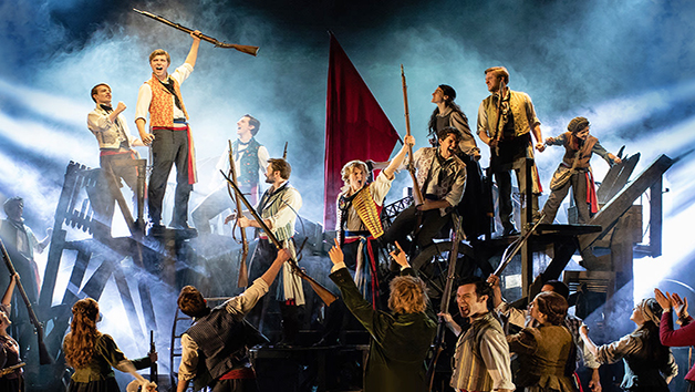 Les Miserables Gold Theatre Tickets for Two