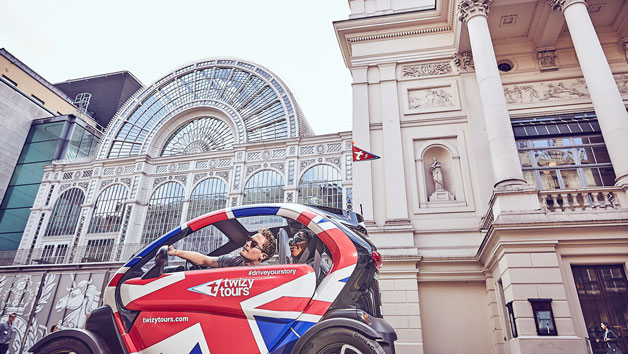 Self-Driven Royal Flash London Tour with Twizy Tours
