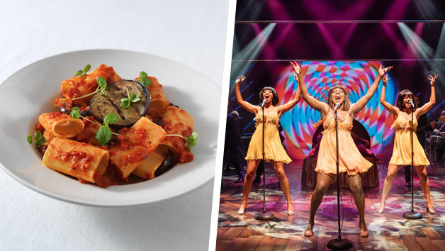 TINA – The Tina Turner Musical Theatre Tickets and a Three Course Meal with Wine for Two at Prezzo