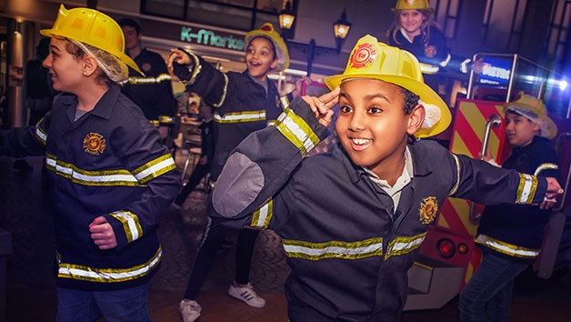 Three Hour End of Day Entry for One Adult and One Child to KidZania