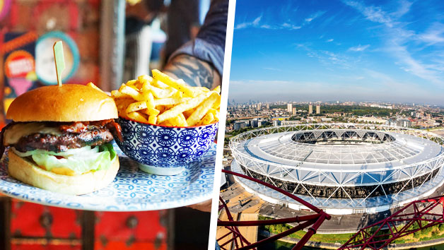 The ArcelorMittal Orbit Skyline View with Three Course Meal at Cabana for Two