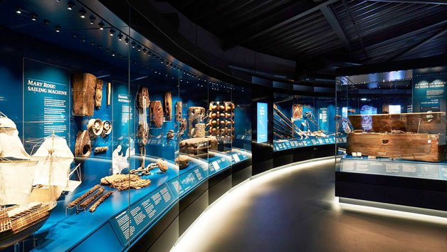 Premium Annual Museum Pass with Afternoon Tea at Mary Rose Museum for Two