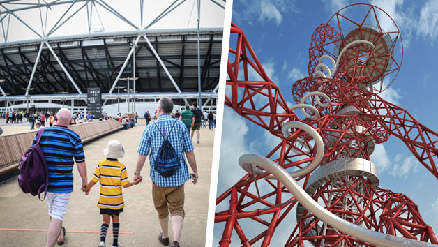 London Stadium Tour and The Slide at The ArcelorMittal Orbit – Family Ticket