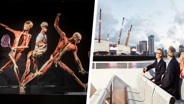 Body Worlds Museum Entry and Thames Sightseeing Cruise for Two