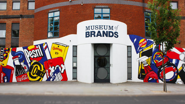 Museum Entry and a Cream Tea for Two at Museum of Brands