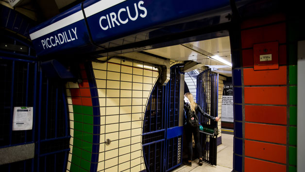 Hidden London Euston, Piccadilly Circus or Charing Cross Tour for Two