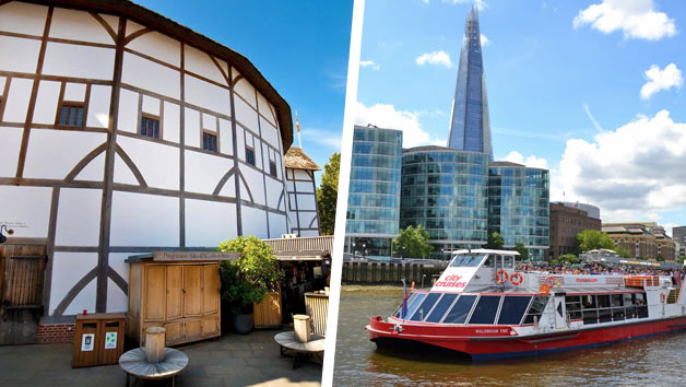 Guided Tour of Shakespeare's Globe and Thames River Rover Cruise for Two