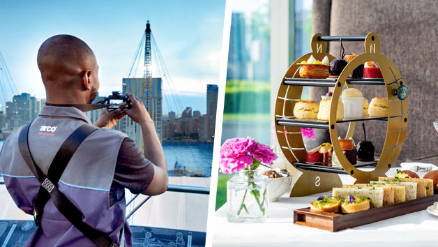 Up at The O2 Climb with an Afternoon Tea for Two at InterContinental London – The O2