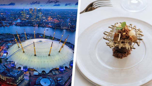 Up at The O2 Climb with a Three Course Meal for Two at InterContinental London – The O2