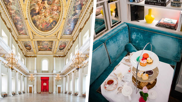 Banqueting House Entry and Afternoon Tea for Two at the 5* Flemings Mayfair Hotel