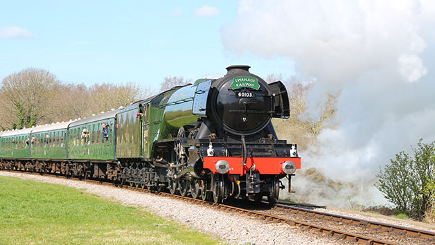 Sea and Train Adventure from Poole for Two