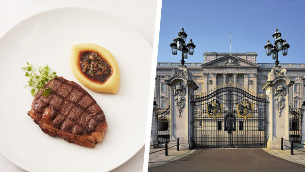 Buckingham Palace Queen's Gallery and Lunch with Champagne at Gordon Ramsay's Savoy Grill