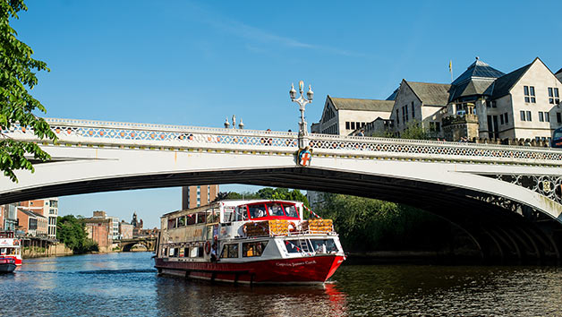 Evening River Cruise in York and a Three Course Dinner for Two