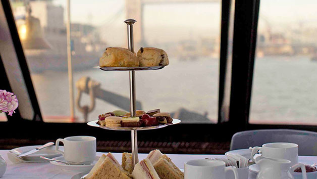 Thames River Cruise with Afternoon Tea for Two