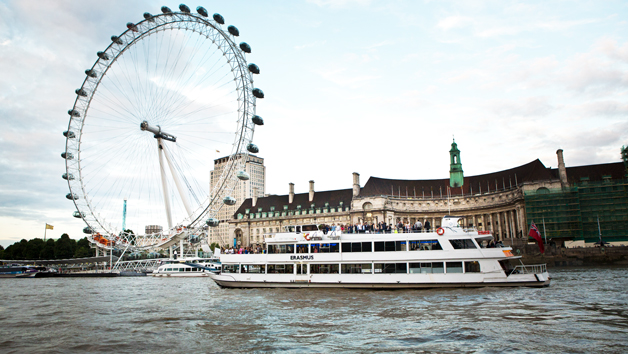 Taste of Britain Sunday Thames River Cruise with Pimms for Two