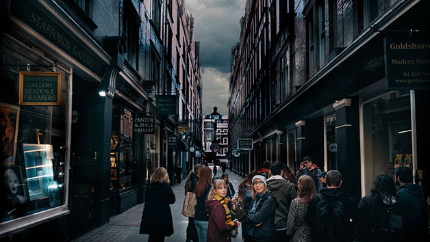 Harry Potter Guided Walking Tour for Two Adults and Two Children