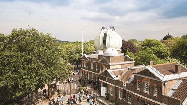 Royal Observatory Entry in Greenwich for One Adult and One Child