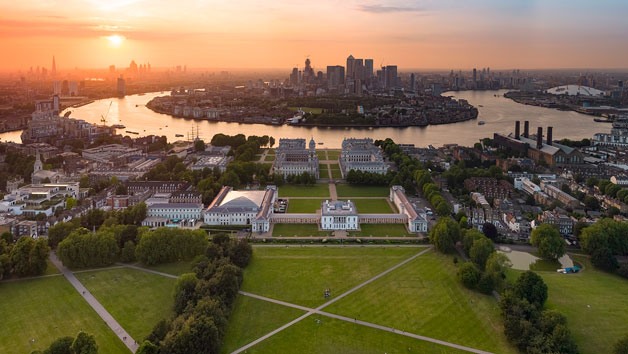 Day Explorer Pass and a Glass of Prosecco for Two Adults at Royal Museums Greenwich