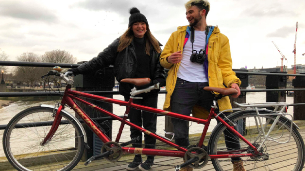 One Day Tandem Bicycle Hire in London for Two with The London Bicycle Tour Company