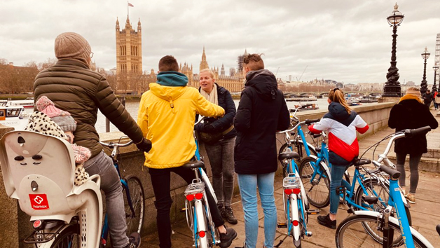 One Day Bicycle Hire for Two Adults and Two Children with The London Bicycle Tour Company