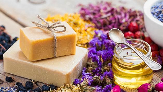Natural Soap Making Workshop at Token Studio for Two