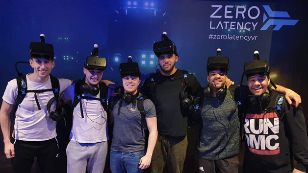Zero Latency Virtual Reality Experience at MeetspaceVR for Four