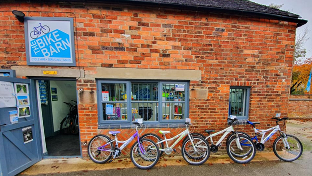 Day Hire of Two Adult Bikes in Derbyshire for Two from The Bike Barn