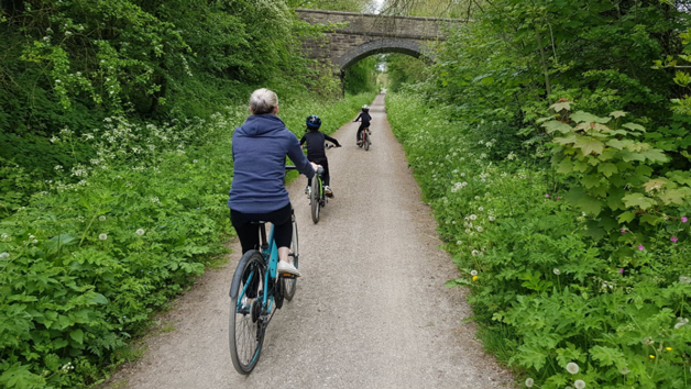 Day Hire of Four Bikes for Two Adults and Two Children in Derbyshire at The Bike Barn