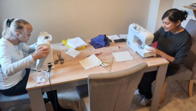 Three Taster Two Hour Sewing Lessons with Thread The Needle Workshop for Two