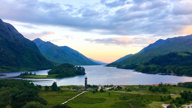 Loch Ness and Highlands Tour from Edinburgh or Glasgow for Two