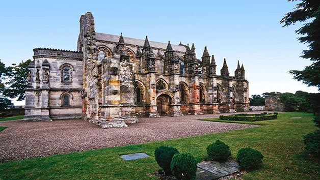 Rosslyn Chapel, Scottish Borders and Whiskey Tour from Edinburgh for Two People