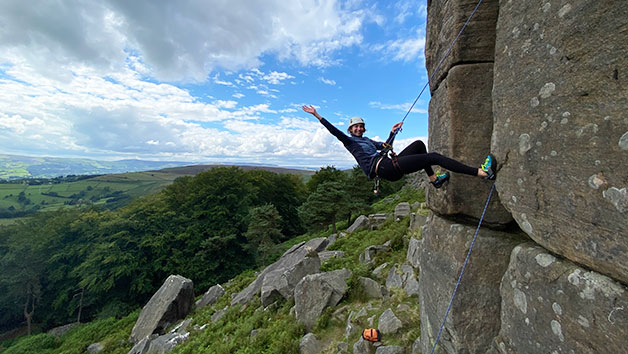 Outdoor Rock Climbing Introduction Day for One