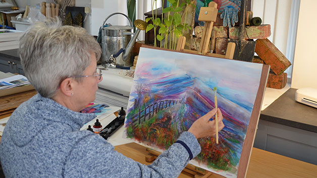 Choice of Art Class at Lyndene Art Studio for Two