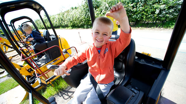 Entry to Diggerland for One Person