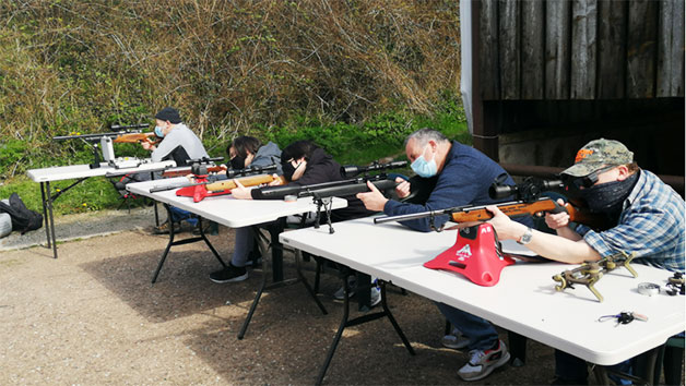 Air Rifle Experience at Rapid Airgun Training for Two