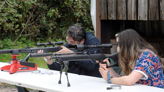 Air Rifle Experience at Rapid Airgun Training for One