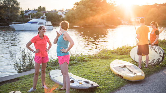 Stand Up Paddleboard Self Guided Adventure for Two at Back of Beyond Adventures