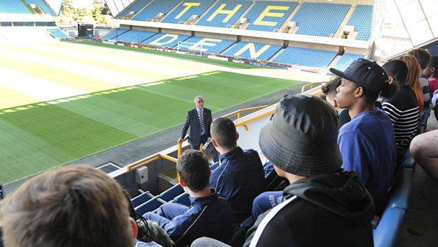 Stadium Tour of Millwall FC's The Den for Family of Four