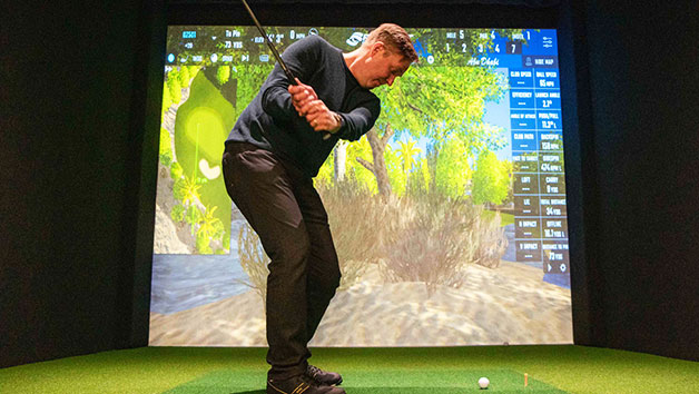 Three Hour Indoor Golf Simulation for Four at Skratch18