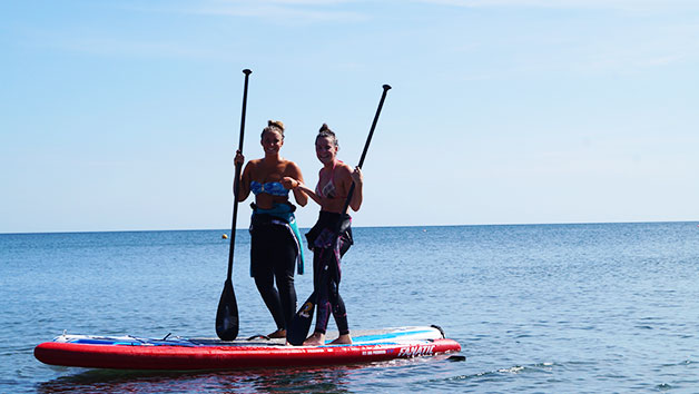 Stand Up Paddleboarding Lesson with Venturi Watersports for Two