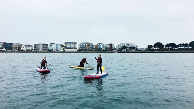 One Hour of Stand Up Paddleboarding for Two in Poole